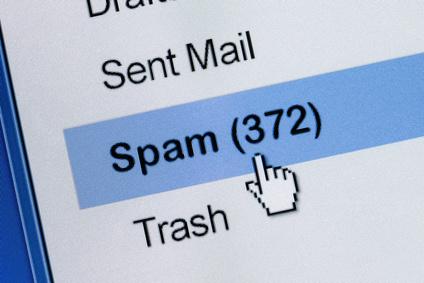Warnung vor Spam Mails